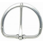 HALF FLAT CINCH BUCKLE - 75MM (STAINLESS STEEL)