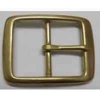 FULL BELT BUCKLE 38MM (SOLID BRASS  UNPOLISHED)