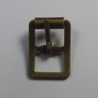 FULL ROLLER LIGHT BUCKLE ANTIQUE BRASS