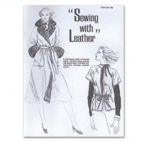 SALE BOOK SEWING WITH LEATHER