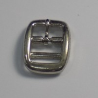 FULL DOUBLE BAR BUCKLE NICKEL