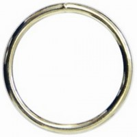 RING WELDED MEDIUM DUTY - NICKEL PLATE