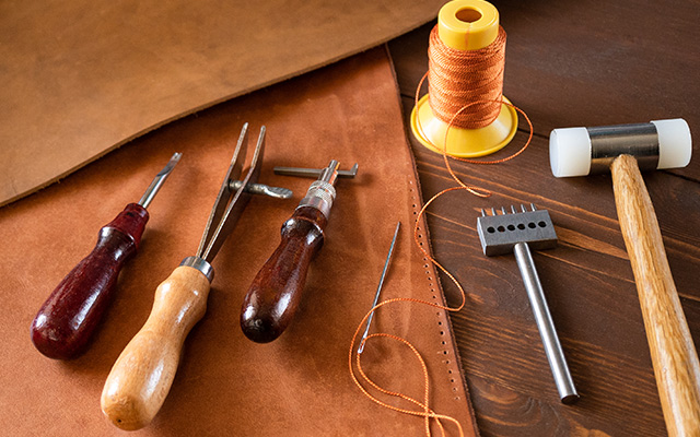 LEATHER CRAFT AND CARE