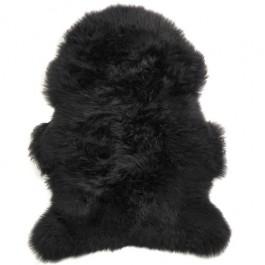 SHEEPSKIN RUG BLACK
