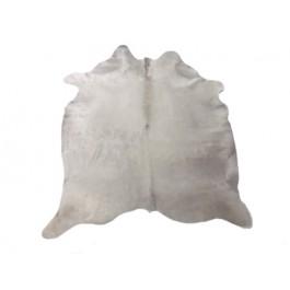 NATURAL COWHIDE RUG WHITE PREMIUM