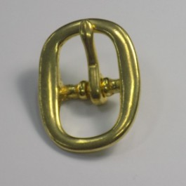 FULL BRIDLE SWAGE BUCKLE BRASS