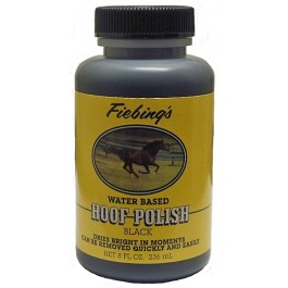 FIEBING HOOF POLISH BLACK 8OZ (229G)