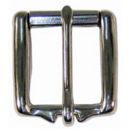 HALF ROLLER HARNESS BUCKLE NICKLE /BRASS
