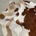 NATURAL COWHIDE RUG LUCKY DIP SPECIAL
