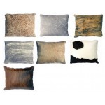 COWHIDE CUSHION 40 X 50