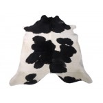 NATURAL COWHIDE RUG BLACK & WHITE