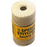 WAXED SPEEDY STITCHER THREADS NATURAL TAN