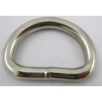 DEE WELDED LOW PROFILE 32MM X 5MM (20MM) (NICKLE)