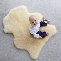 SHEEPSKIN RUG INFANT/ BABY CARE RUG