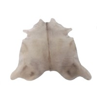 NATURAL COWHIDE RUG CHAMPAGNE