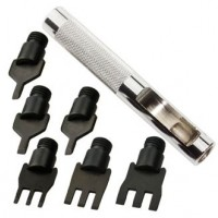 HOLE PUNCH SET - THONGING CHISELS