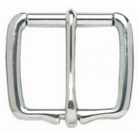REAR CINCH HALF ROLLER BUCKLE 45MM (ST.STEEL)