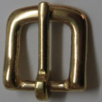 WESTEND BUCKLE BRASS  12MM