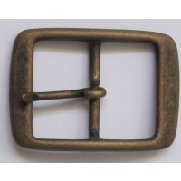FULL BELT BUCKLE 35MM (ANT.BRASS ON SOL.BRASS)