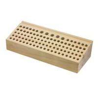 STAMP HOLDER - WOODEN TOOL RACK LARGE 102 HOLES