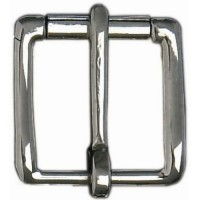HALF ROLLER BUCKLE STAINLESS STEEL