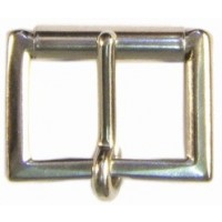 HALF ROLLER ENGLISH BUCKLE NICKEL