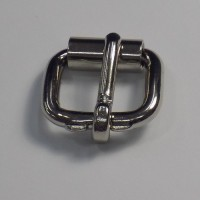 HALF ROLLER HEAVY DUTY GEAR BUCKLE NICKEL