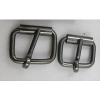 ROLLER BUCKLE BLACK NICKEL
