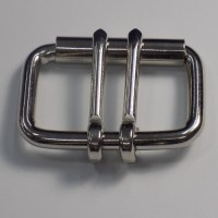 HALF ROLLER HEAVY DUTY DOUBLE TONGUE BUCKLE