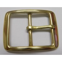 FULL BELT BUCKLE 38MM (SOLID BRASS POLISHED)