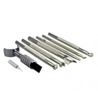 STAMP & SWIVEL KNIFE TOOL SET - BASIC 7 PIECE SET