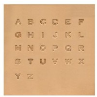 STAMP SET - ALPHABET EASY TO DO SET 6 MM