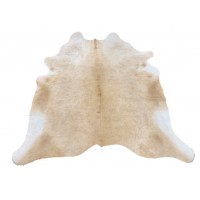 NATURAL COWHIDE RUG BUTTER